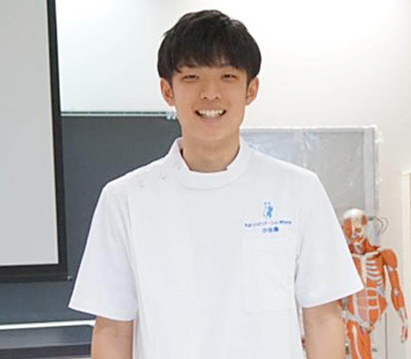 理学療法士科 昼間部 2017年度入学 小田さん写真