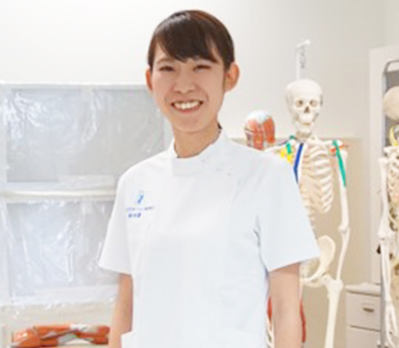 理学療法士 昼間部 村中さん(社会人)写真