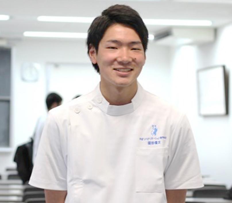 作業療法士 昼間部 2016年度入学 岡田さん写真
